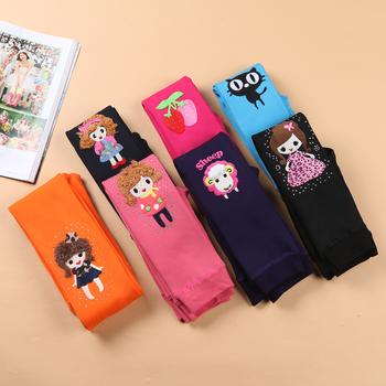 Fall/winter 2014 seamless integration of the child warm pants thickened colored girls in leggings and cashmere leggings