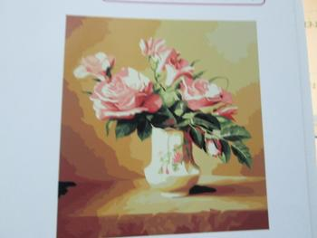 Digital painting 40*50 painting vases for adults