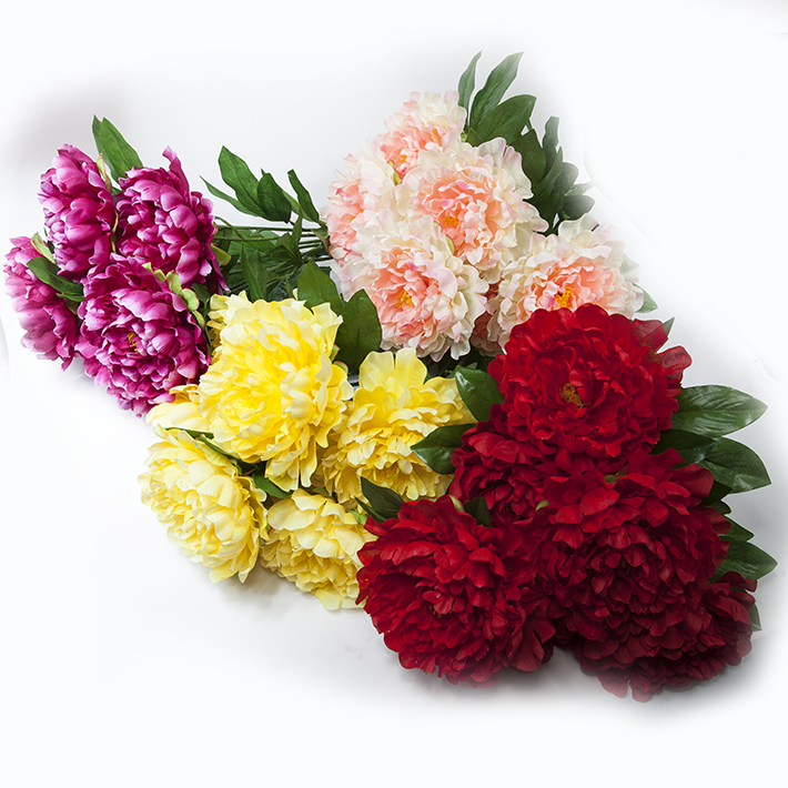 Supply the 7 head to see the peony artificial flowers silk flowers view image of original size mightylinksfo