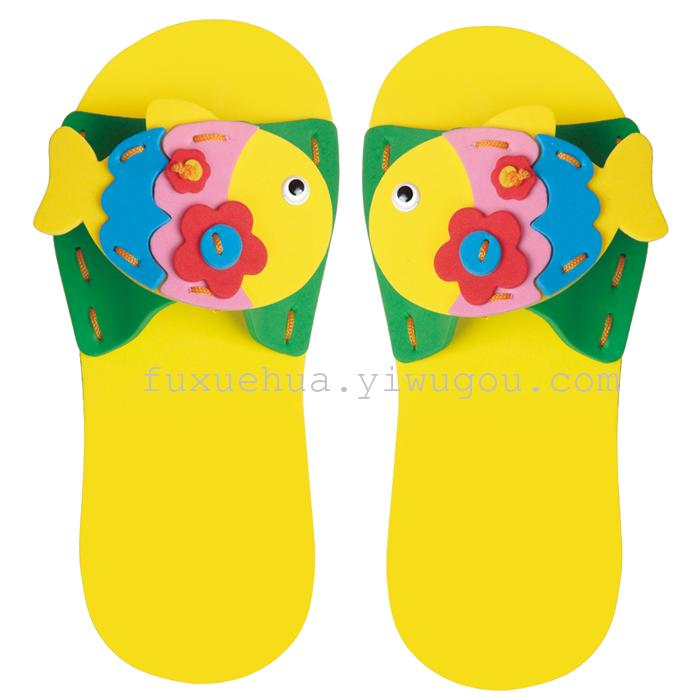 Supply EVA DIY Handmade infant children slippers art class ...