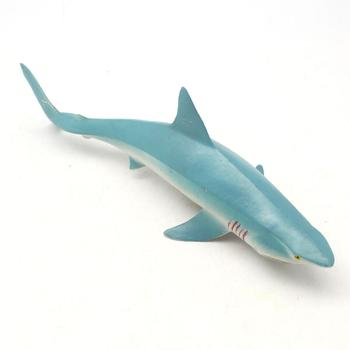 PVC plastic imitation animal toys simulation model of sharks with sound science and education