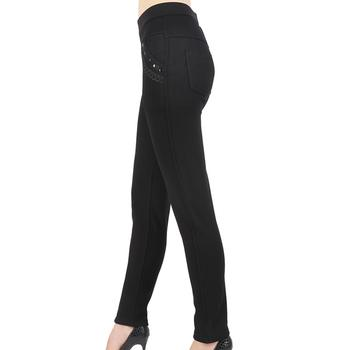 4XL new outer wear and fertilizer increase elderly leggings thick mother warm pants high waist