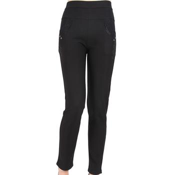 2XL 3XL stretch outside the old leggings look high waist XL-warm pants leggings