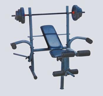 Multifunctional weight bench barbell bench press frame bed set fitness equipment