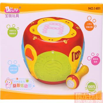 Polaroid infant toys 1401 touch hand drums electronic music, children's educational toys
