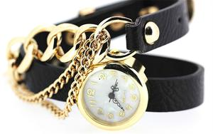 Korean version of the latest fashion wear chain bracelet watch