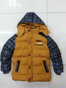 Jin Zi baby bear recreation and children's clothes, sleeves and distribution grids,