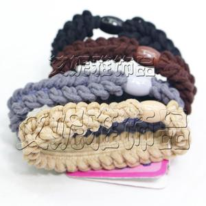 Hair accessories Korean headdress alloy high-elastic rubber band Mao Long ring factory direct