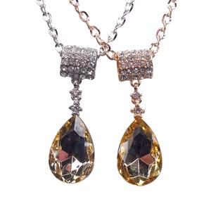 CAC2099 crystal drop necklace for the Korean version of long bi-fold wallets accessories necklace
