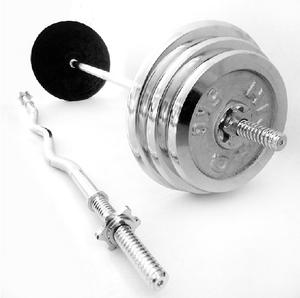Barbell piece small hole plating dumbbell 5 kg large hole