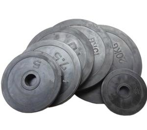 Weights barbell dumbbells foot heavy bag film snippets of small hole hole barbell piece 10 kg