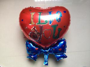 Aluminum ball balloon inflatable toys diverse styles of love