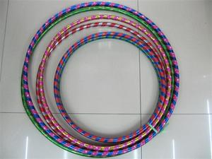 Laser double color, body, leisure, children's toy hula hoop