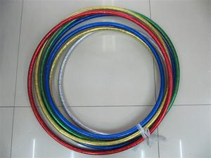 Factory direct wholesale plastic children slimming hula hoop fitness