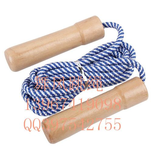 Dancing wind bearing jump rope with wooden handle jump rope fitness calorie weight jumping rope