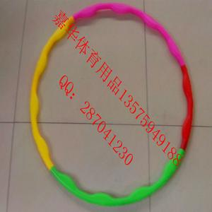 Seven-section hula hoops,  dismountable hula hoop,  alphabet pattern hula hoop, children's  gymnastics rings, splicing colored hula hoop JH10006