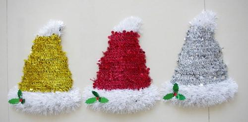Christmas hats and colorful holiday Hat