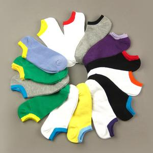 Wicking movement of invisible men and women spring/summer essential combed cotton socks boat socks 0.01