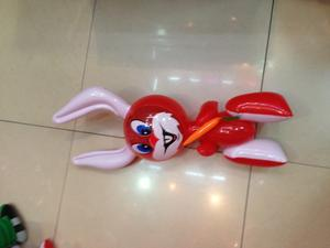 Inflatable toys, PVC material manufacturers selling cartoon crooked-eared rabbit