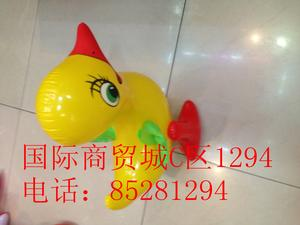 Inflatable toys, PVC material manufacturers selling cartoon character flying duck