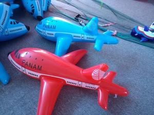 Factory Outlet small inflatable toys, inflatable airplane model no killer toys