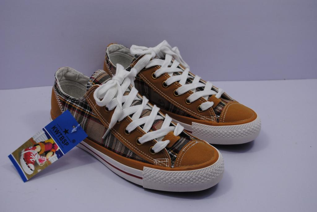 supply casual s plaid canvas shoes laces student