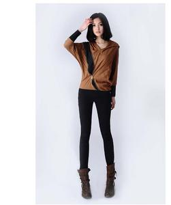 Better posture thickened counters authentic winter and cashmere pencil pants feet pants casual pants leggings