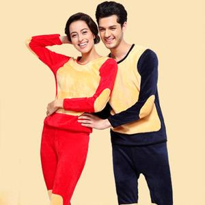 Thermal underwear for men and womensuit double regenerative couples of men and women of the Golden Flower