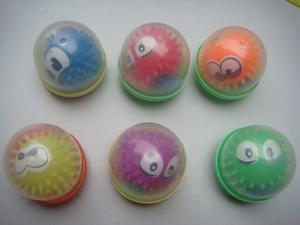 Factory direct shell plush toys face ball eye ball Flash ball soft TPR toys best selling export products