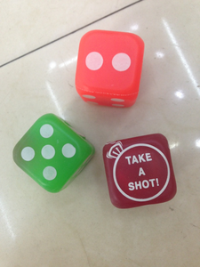 Factory Outlet TPR soft toys plush Dice Flash sieve ball-like development environment gambling toys