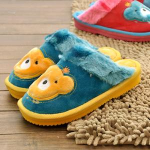 Jia Nan 13-09 children's cartoon thicken cotton cotton slippers of children in cotton slippers warm cotton wholesale