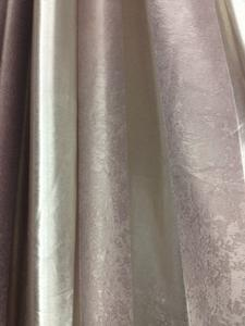 5 cm wide vertical bar double-sided three-layer woven shade curtain fabric