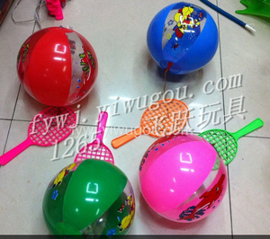 Yiwu manufacturers pat the ball fitness PVC inflatable toys and children's puzzle new toys