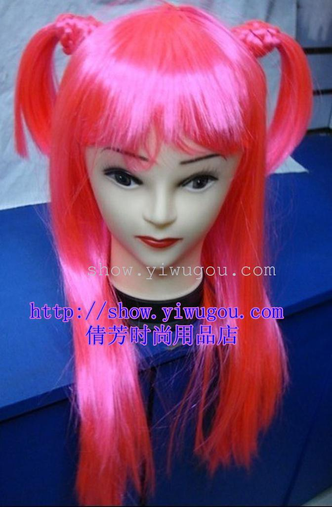 Supply Dolls Small Plait Long Straight Hair Wigs Hair