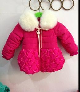 Little models new 2014 Winter baby clothes