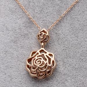 New rose zircon jewelry wholesale Korean jewelry necklace collar chain