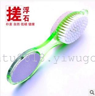 XT-1853 practical four-in-one Exfoliating corns, calluses foot foot washing brushes best selling stone grinding