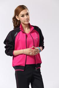 In the old sports suit three piece autumn women's sportswear increased with fertilizer