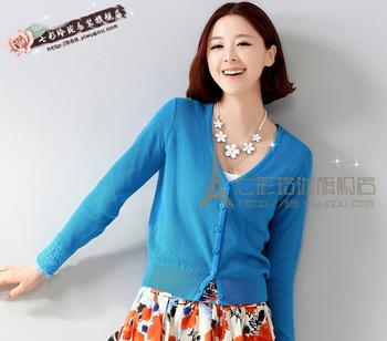 In the winter of 2015 explosion of new women's knitted cardigan