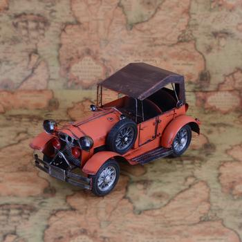 Vintage antique cars, classic car model photography props on display props bar decoration home decoration gifts crafts