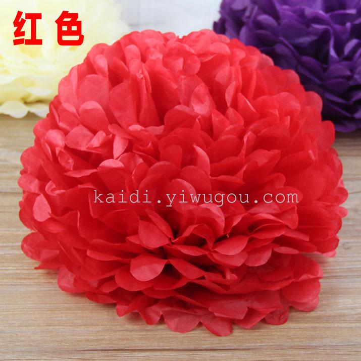 Supply paper flower ball paper manual paper flower lanterns roses view image of original size mightylinksfo