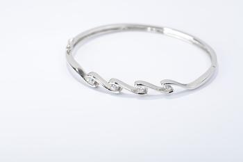 Fine 925 sterling silver micro bracelets & bangles Up-grade quality pure 925 silver material bracelet GNSZ0027