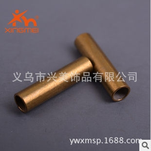 Beauty DIY jewelry copper Accessories Accessories Accessories hands round brass straight tube FB00131
