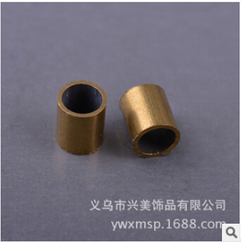 American jewelry DIY accessories brass color copper pipe straight pipe wholesale jewelry FB00145