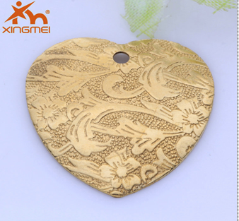 New solid brass accessories plated hearts fashion DIY hot jewelry copper Jewelry American factory direct