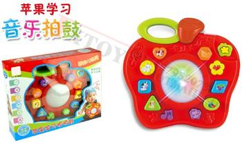 Pat Apple learning drums toys, battery operated toys electronic organ Smart Toys