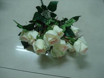 Factory direct 24 perfume roses artificial flowers flowers