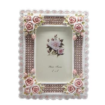 Rose cut-Crystal photo frame ornaments resin mix garden wind fashion decoration crafts