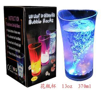 Factory LED led glasses Flash glass vases glass induction glass bars KTV concert special cheers
