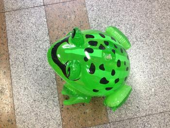 Factory direct sale inflatable frog inflatable toys children's toys